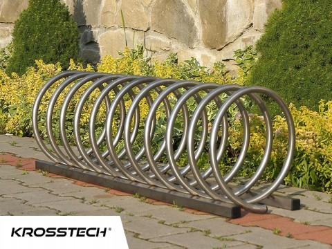 Stojak na rowery VIRO-4 nierdzewka