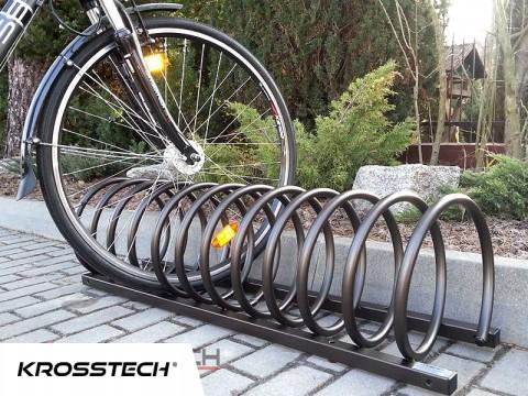 Stojak na rowery VIRO-4 brązowy