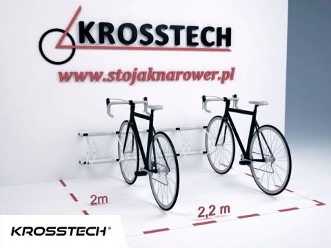 Stojak na rowery ECHO-5 ścienny