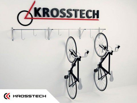 Wieszak na 8 rowerów CRIS-8