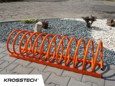 Stojak na rowery VIRO-4 orange