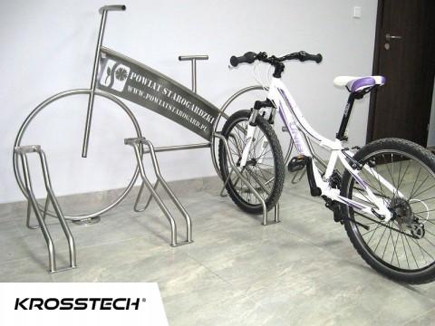 """Stojak rowerowy """"Rower"""" nierdzewka+wycinka laser"""