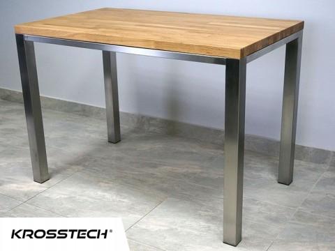 """Stół """" Rubin"""" z nierdzewki"""