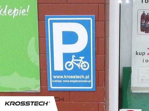 Tabliczka-parking na rowery