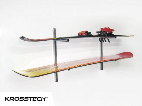Wieszak na narty i snowboard SNOW -2
