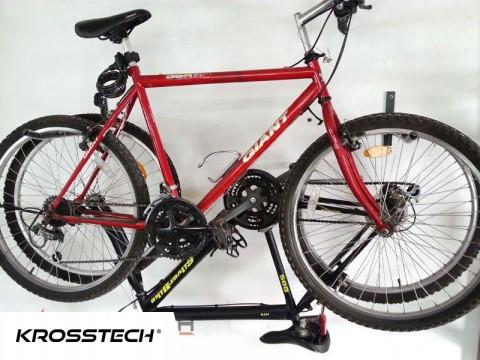 Wieszak na dwa rowery czarny 50cm