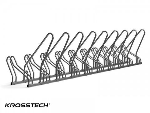 Stojak na rowery CROSS-10 z barierką