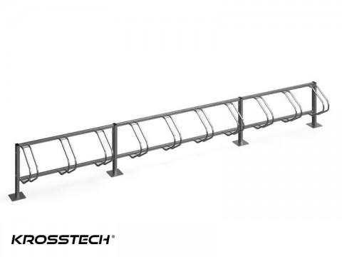 Stojak na rowery ECHO-10 PION INOX
