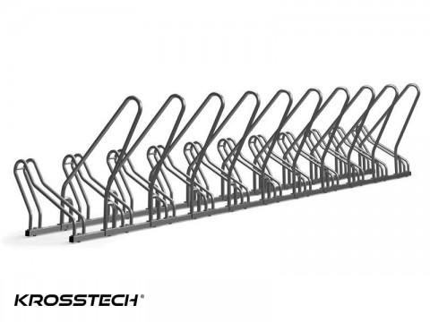 Stojak na rowery CROSS-11 z barierką