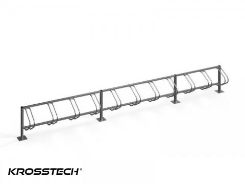 Stojak na rowery ECHO-11 PION INOX