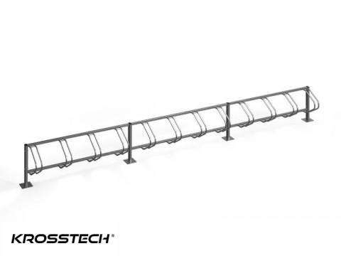 Stojak na rowery ECHO-12 PION INOX