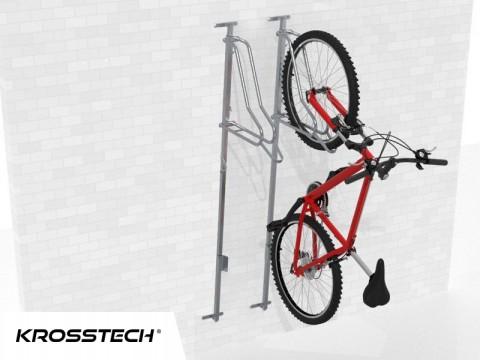 Wieszak na rowery LIFT-2 PREMIUM (2 stanowiska)