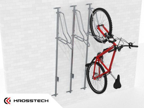 Wieszak na rowery LIFT-3 PREMIUM (3 stanowiska)
