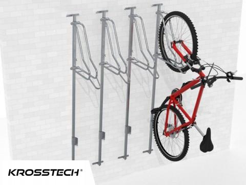 Wieszak na rowery LIFT-4 PREMIUM (4 stanowiska)