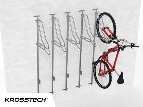 Wieszak na rowery LIFT-5 PREMIUM (5 stanowisk)