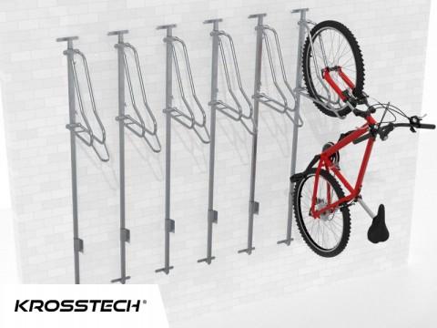 Wieszak na rowery LIFT-6 PREMIUM (6 stanowisk)