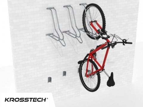 Wieszak na rowery LIFT-3 (3 stanowiska)