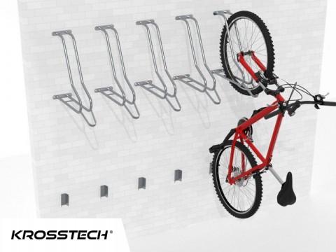 Wieszak na rowery LIFT-5 (5 stanowisk)