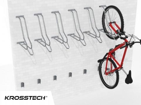 Wieszak na rowery LIFT-6 (6 stanowisk)