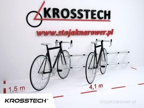 Stojak na rowery ECHO-7 ścienny