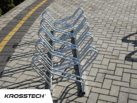 stojak na rowery dwustronny