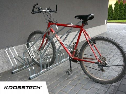 Stojak na rowery CROSS-4 z barierką