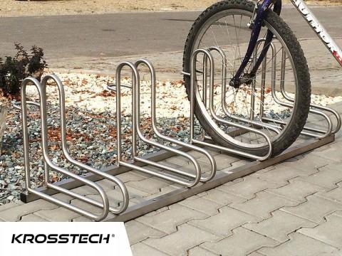 Stojak na rowery  RAD-6 nierdzewny