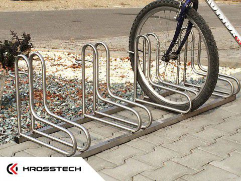 Stojak na rowery  RAD-7 nierdzewny