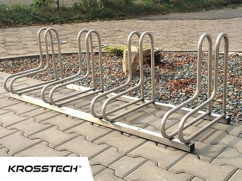 Stojak na rowery  RAD-8 nierdzewny