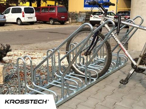 Stojak na rowery RAD-4 z barierką