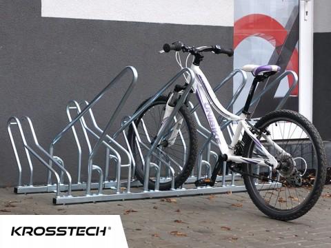 Stojak rowerowy CROSS SAVE-8 z barierkami
