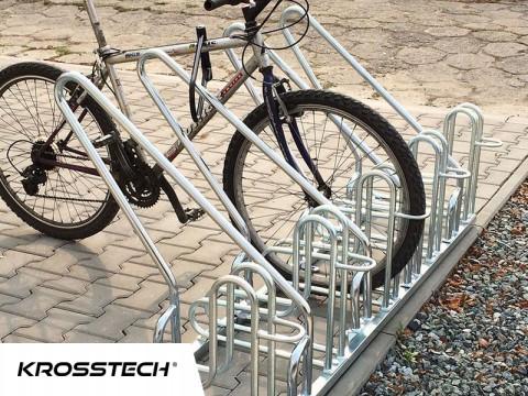 Stojak na rowery RAD-10 z barierką