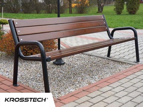 Zaawansowane Ławka do ogrodu Promyk II retro | Krosstech ES22