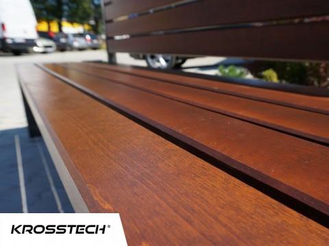 materiał drewno - Ławka Talia
