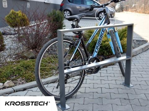 Stojak na rowery U-35 100x80cm ocynk+ral 7043 PROMOCJA !!!