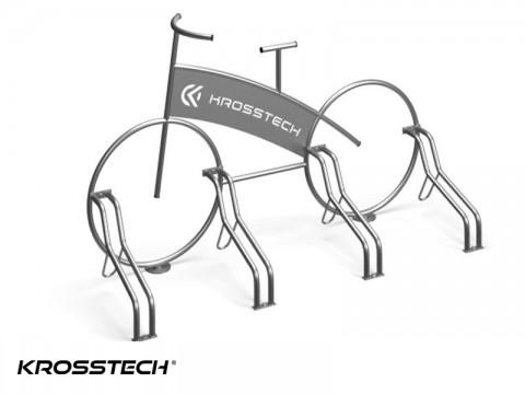 """Stojak rowerowy """"Rower"""" +wycinka laser"""