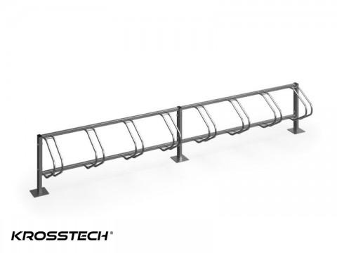 Stojak na rowery ECHO-8 PION INOX