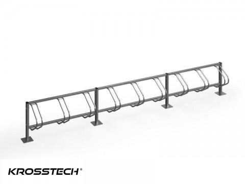 Stojak na rowery ECHO-9 PION INOX