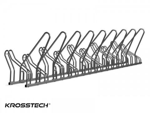 Stojak rowerowy CROSS SAVE-10 z barierkami