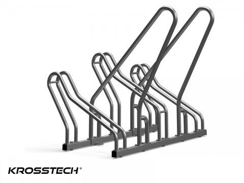 Stojak rowerowy CROSS SAVE-3 z barierkami
