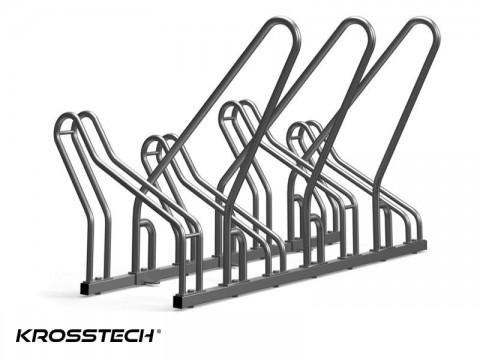 Stojak rowerowy CROSS SAVE-4 z barierkami