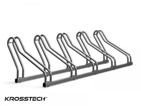 Stojak na rowery CROSS-5 nierdzewka