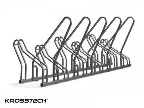 Stojak rowerowy CROSS SAVE-6 z barierkami