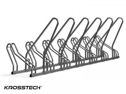 Stojak na rowery CROSS-7 z barierką