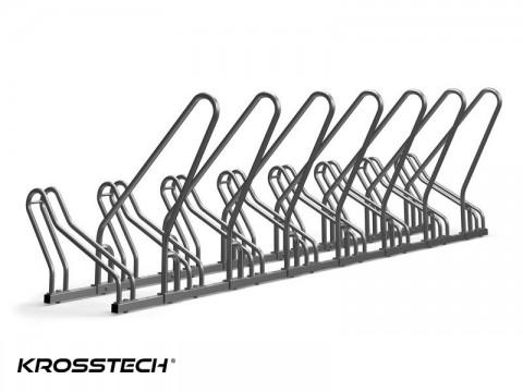 Stojak na rowery CROSS-8 z barierką
