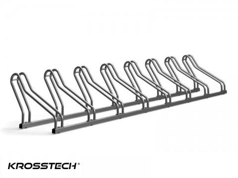 Stojak na rowery CROSS-8 nierdzewka