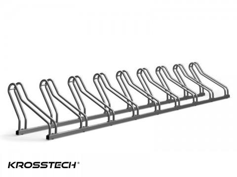 Stojak na rowery CROSS-9 nierdzewka